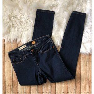 Anthropologie Pilcro Serif Dark Wash Legging Jeans
